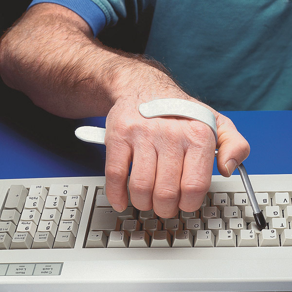 Typing splint