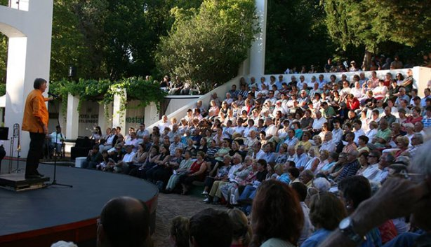 The Oude Libertas Open Air Theatre, Stellenbosch, Cape Town
