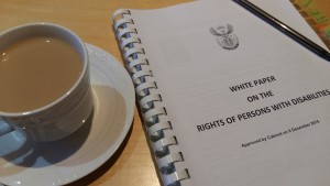 Photo of the White Paper on the Rights of Persons with Disabilities